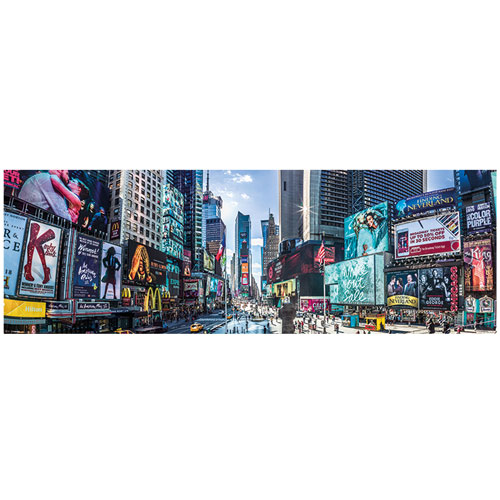 New York Times Square Panoramic SlimPoster 사진 인테리어 포스터 (31x91cm)